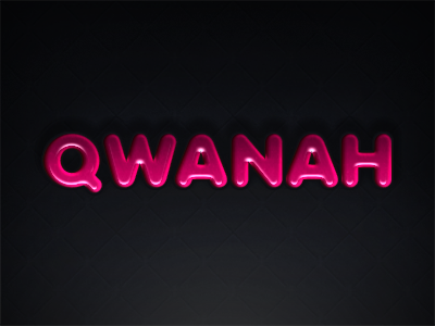 Qwanah chief qwanah fat type pink glossy