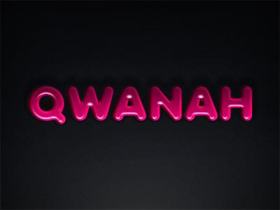 Qwanah chief qwanah fat type pink glossy