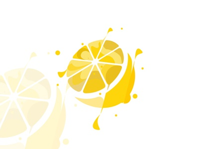 lemon branding web flat flat  design icon vector illustration graphic  design design lemon logo lemonade illustration agency lemon