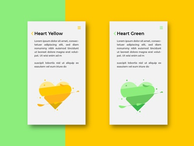 Heart app ui ux branding vector logo flat  design design illustration graphic  design
