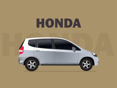 HONDA CAR illustration