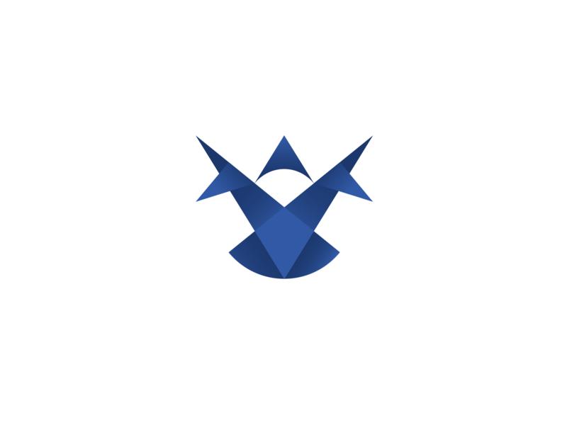 Eagle Fly gradient eagle logomark logodesign graphic design eagle logo gradiant