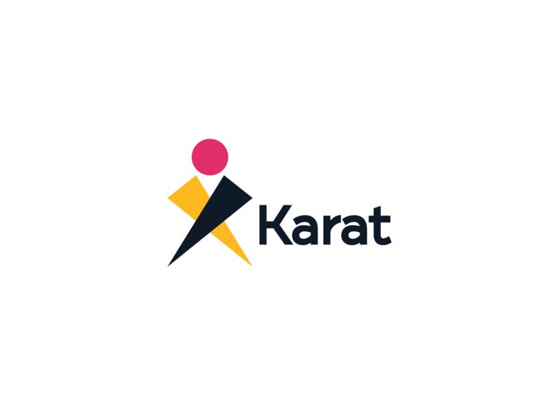KARAT Logo Brand logo mark logo design branding karate branding design branding logo design logo