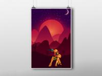 Samus Aran Poster