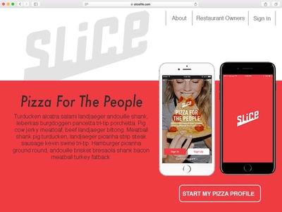 Daily Ui Three Landing Page