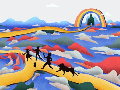 wizard of oz photoshop children art illustration