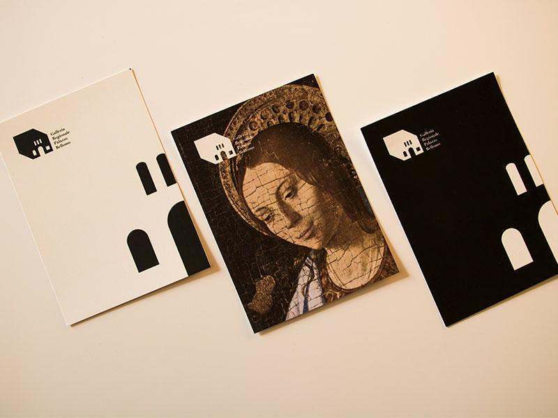 Galleria Regionale Palazzo Bellomo museum corporate branding corporate post cards visual  identity brand branding typography logo vector design graphic design