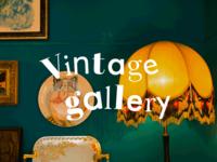 Vintage Gallery logotype