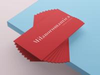 Business Card Milanoromantica