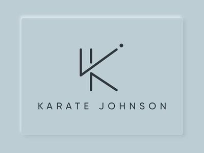 LOGO CONCEPT KARATE JOHNSON