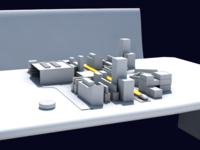 City Model for Reevo AR Autonomous Car