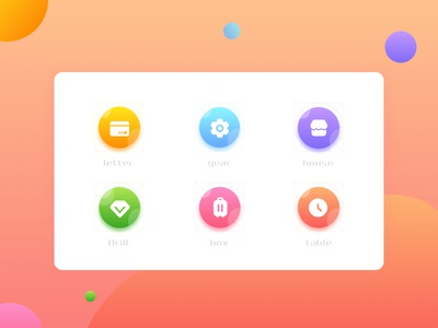 a set of very cool icons hand painted icon ux typography 设计 beautiful 接口 interface illustration