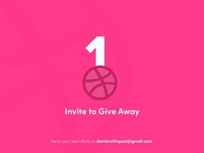 1 Invite 2 Dribbble