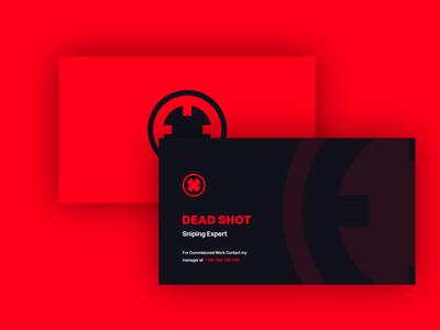 Deadshot - Business Card