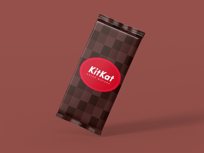 Kitkat Package Concept - Dribbble Weekly Warmup 3