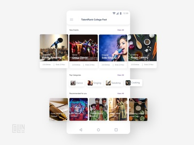 Mobile Application Design for an Event