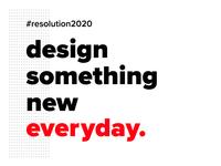 Week 18 - Resolution 2020