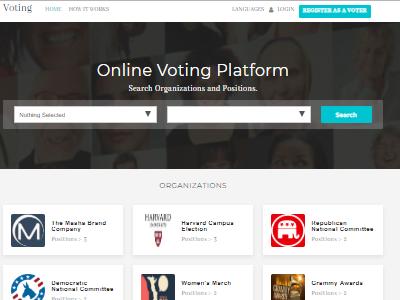 Online Voting Platform