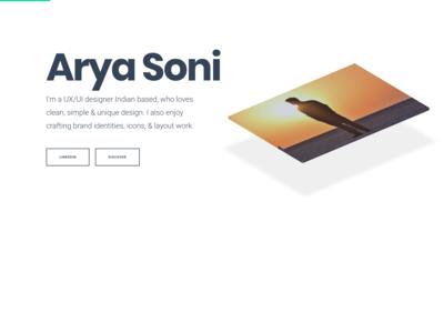 UI/UX Design - Portfolio Resume
