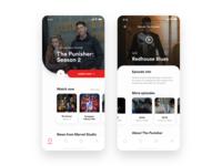 Flutter Streaming Service App UI