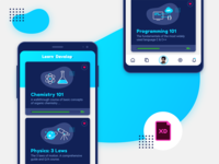 Learning Page Concept | Freebie