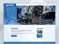 Maakone Website Redesign
