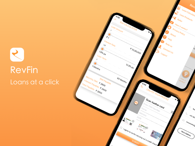 Revfin-loans on a click