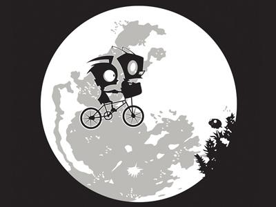 Dib And The E.T e t invader zim dib cartoon alien hoborobo movie tv character design illustration illustrator