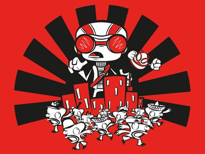 Goggalor goggalor hoborobo video game psychonauts japanese cartoon character design game illustration illustrator