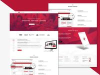 Synrgise Website Mockup