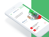 Krypto Labs Mobile Website