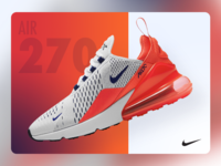 Nike Air 270 Card