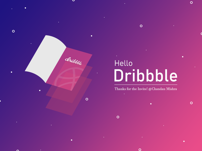 Hello Dribbble! dribbble debut hello dribbble first design firstshot debut shot