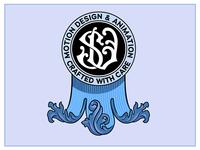 Monogram - S V , engraved style