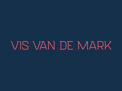 Vis van de Mark Wordmark