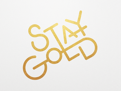 Stay Gold | 01 of 25