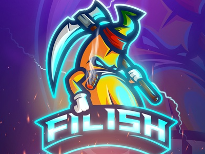 Filish Mascot Logo