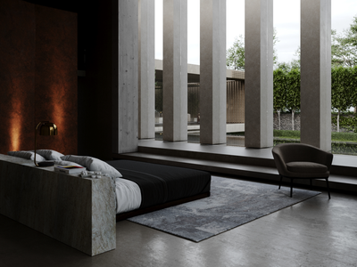 3D render for bedroom from Bran's Lane project project photorealism cgi interiordesignideas architect architecturalvisualization photoshop corona renderer hi-end visualisation render interior design architecture 3dsmax 3d