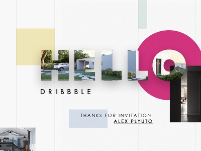 Hello dribbble Players 3dsmax architecture interior design project photorealism visualisation hi-end render 3d