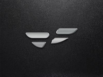 Bespoke Fitness Logo logo silver metallic mark symbol wellness fitness
