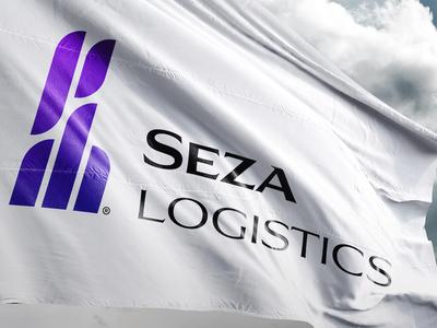 Logistics Firm Logo corporate branding flag branding logo design logo logistics