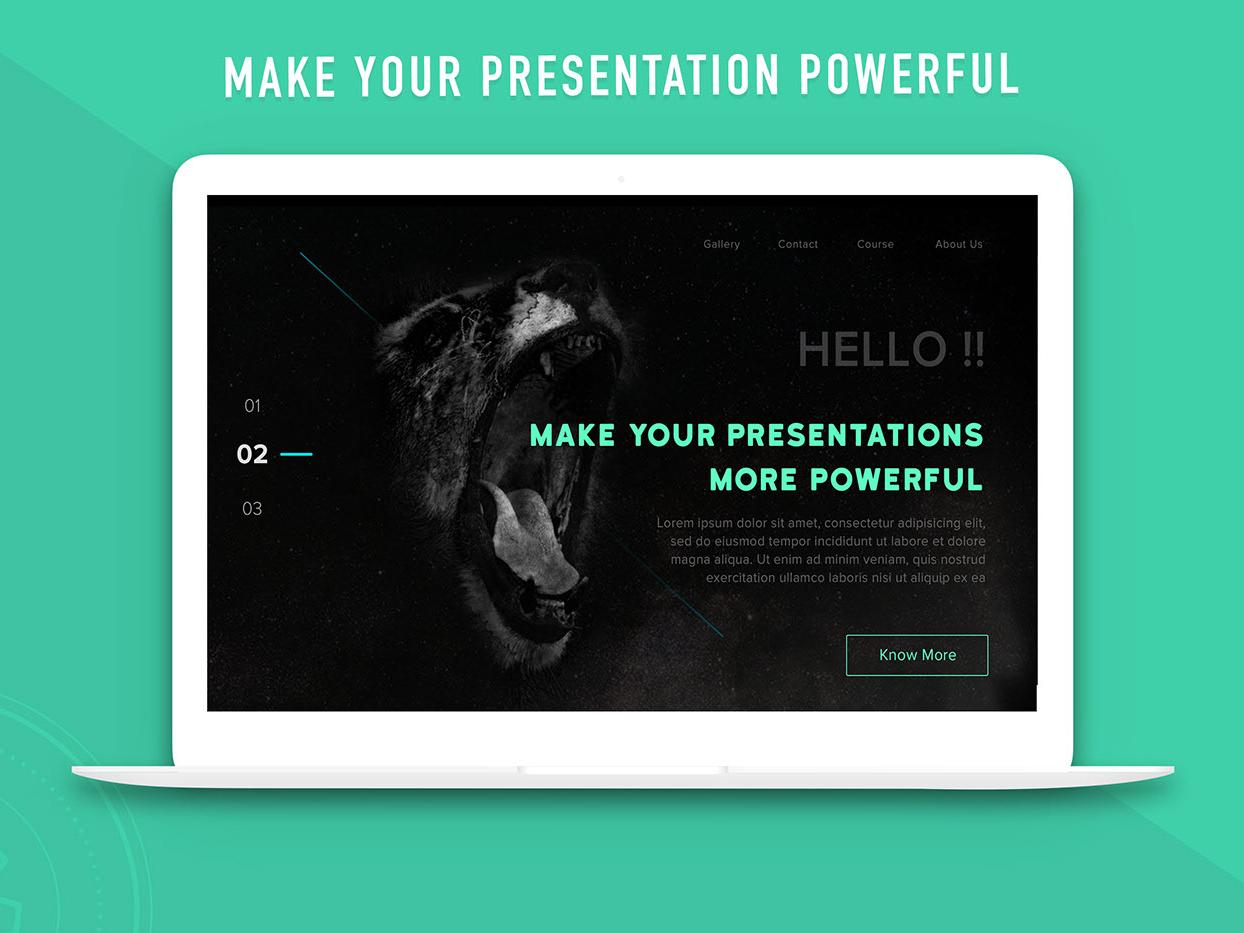 Landing Page Design marketing mockup illustrator presentation dark landingpage website typography branding design creative