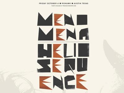 Menomena & Helio Sequence | Mohawk