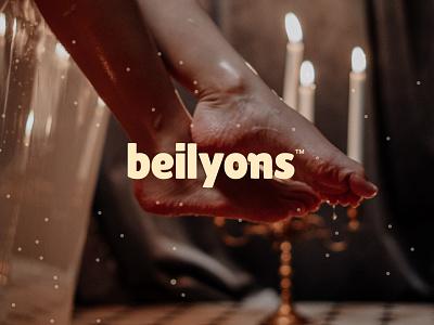 Logo Design For Beilyons minimal typography design branding brand design brand identity design logo