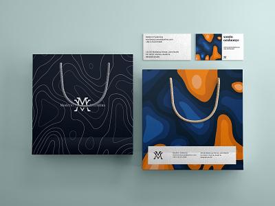 Brand Identity design for Moderni Valentina graphic design vector illustration design brand design logo branding brand identity design