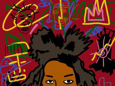 Basquiat icons