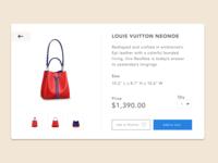 E Commerce Shop ( Single Item ) - Daily UI #012