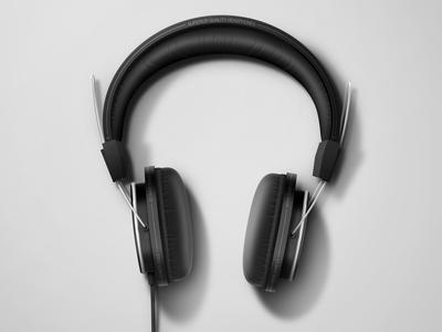 Headphones Rendered