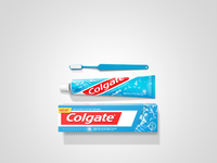 Toothpaste dribbble large