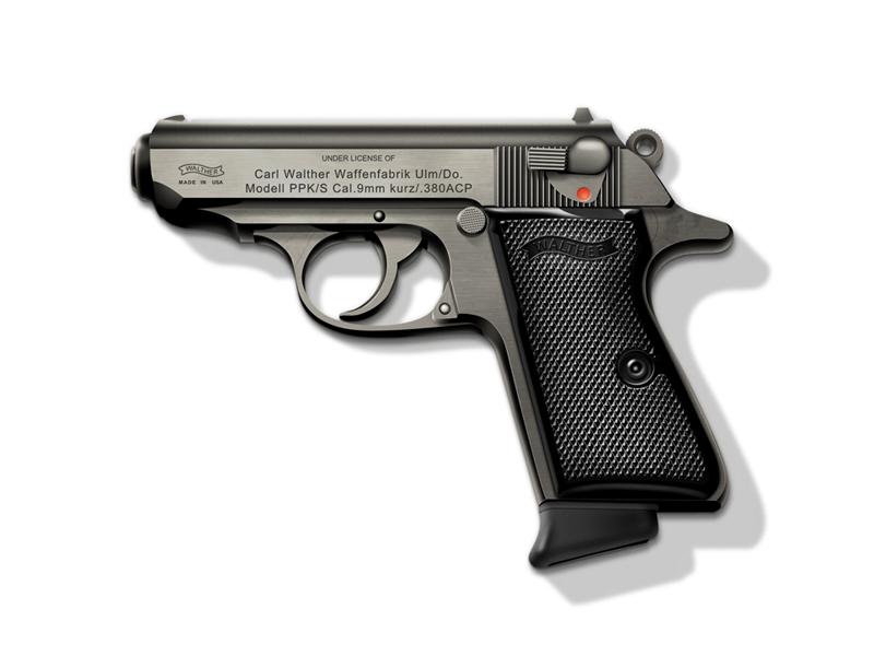 PPK/S, Day 3 mockup james bond gun